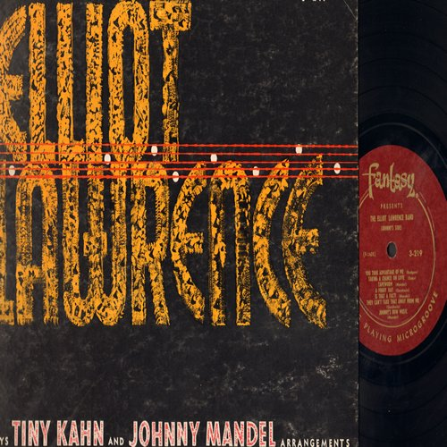 Lawrence, Elliot - Elliot Lawrence Plays Tiny Khan and Johnny Mandel: TNT, Blue Room, Jeepers Creepers, A Foggy Day, They Can't Take That Away From Me (Vinyl MONO LP record) - NM9/VG6 - LP Records