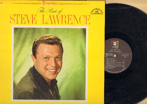 Lawrence, Steve - The Best Of: Pretty Blue Eyes, Loving Is A Way Of Living, Footsteps, You're Nearer, Come Back Silly Girl (Vinyl STEREO LP record, 1970s issue) - EX8/EX8 - LP Records