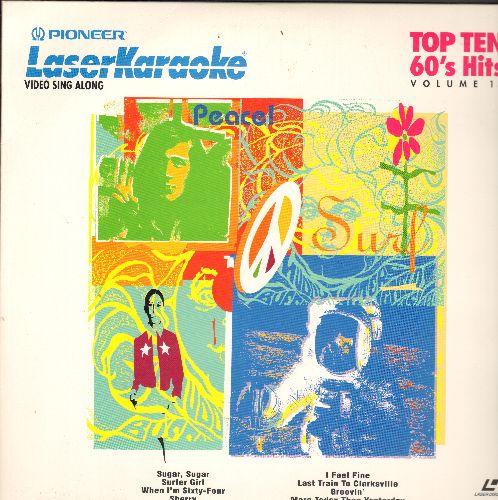 Laser Karaoke - Top Ten 60s Hits Vol. 13: Groovin', Sugar Sugar, Surfer Girl, Poetry In Motion, more! (LASER DISC with 10 titles, Karaoke Favorites!) - NM9/NM9 - Laser Discs