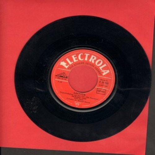 Delon, Alain - Laetitia/Enterrement Sous-Marin (German Pressing, sung in French) - VG7/ - 45 rpm Records