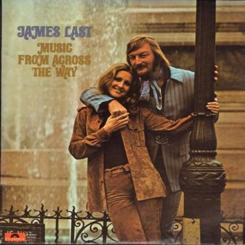 Last, James - Music From Across The Way: Here Comes The Sun, Chirpy Chirpy Cheep Cheep, Me And You And A Dog Named Boo, The Dock Of The Bay (Vinyl STEREO LP record) - NM9/NM9 - LP Records