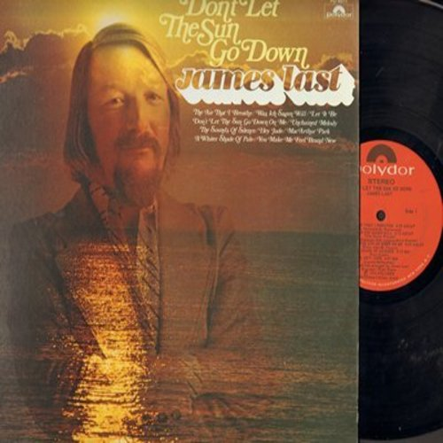 Last, James - Don't Let The Sun Go Down: The Air That I Breathe, Let It Be, Hey Jude, The Sound Of Silence, Was ich sagen will (Vinyl STEREO LP record) - NM9/EX8 - LP Records