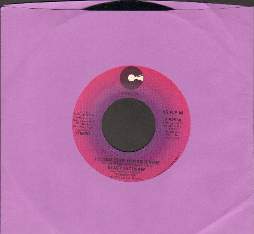 Lattisaw, Stacy - I Could Love You So Divine/Attack Of The Name Game - NM9/ - 45 rpm Records