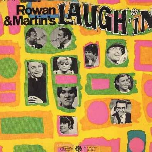 Rowan & Martin - Rowan & Martin's Laugh-In - Form the Original TV Series Sound Track (Vinyl STEREO LP record) - NM9/EX8 - LP Records