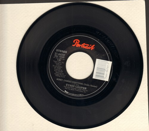 Lauper, Cyndi - Money Changes Everything  - EX8/ - 45 rpm Records