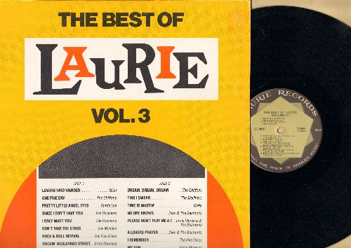 Dion, Chiffons, Carlo, Five Discs, others - Best Of Laurie Vol. 3: Lovers Who Wander, One Fine Day, This I Swaer, Time Is Wastin', I Remember (vinyl STEREO LP record) - M10/EX8 - LP Records
