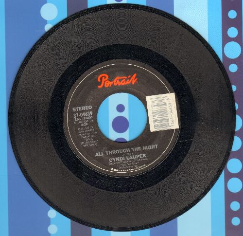 Lauper, Cyndi - All Through The Night/Witness  - NM9/ - 45 rpm Records
