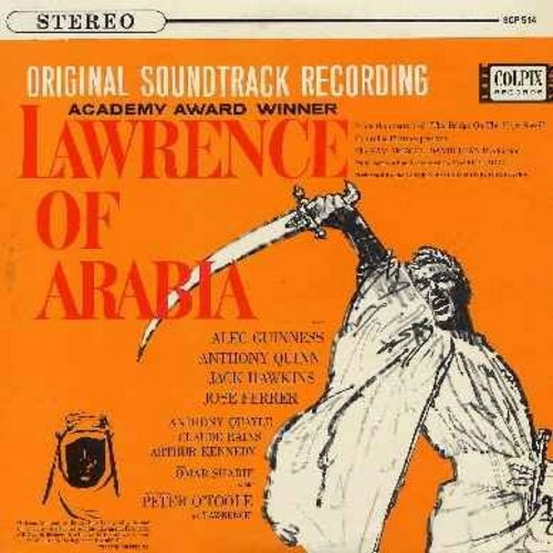 London Philharmonic Orchestra - Lawrence Of Arabia - Original Motion Picture Sound Track (vinyl STEREO LP record) - NM9/NM9 - LP Records