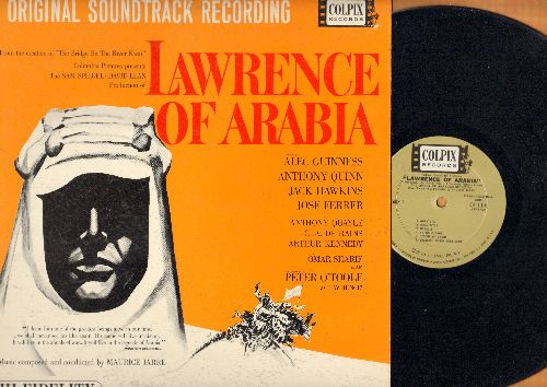 London Philharmonic Orchestra - Lawrence Of Arabia - Original Motion Picture Sound Track (vinyl MONO LP record) - NM9/EX8 - LP Records