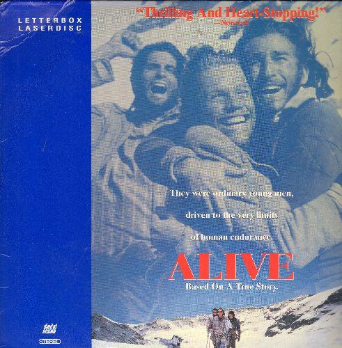 Alive - Touchtone's Alive Letterbox Double LASERDISC  - NM9/NM9 - LaserDiscs