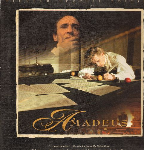 Amadeus - Amadeus Double Special Edition Laser Disc - NM9/EX8 - Laser Discs