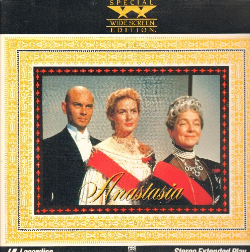 Anastasia - Anastasia -LASER DISC version of the Oscar Winning Clssic starring Ingrid Bergman, Wide Screen Edition, gate-fold cover. - NM9/NM9 - Laser Discs