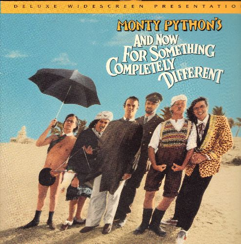 Monty Python - And Now For Something Completely Different - LASERDISC featuring the Monty Python Troup and their outrageous humor. (This is a LASERDISC, NOT any other kind of media!) - NM9/NM9 - LaserDiscs