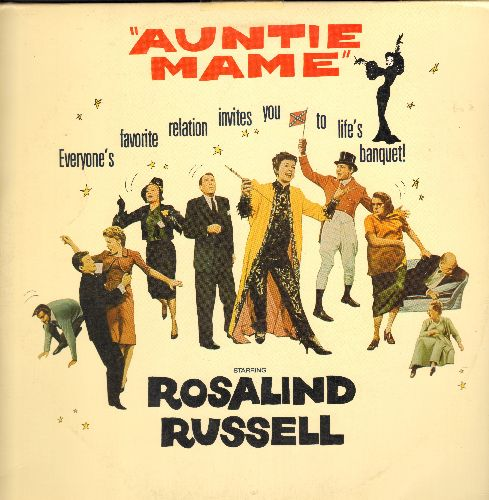 Auntie Mame - Auntie Mame - Laser Disc version of the Classic 1958 Musical starring Rosalind Russell  (This is a set of 2 LASER DISCS, NOT ANY OTHER KIND OF MEDIA!) - NM9/EX8 - Laser Discs
