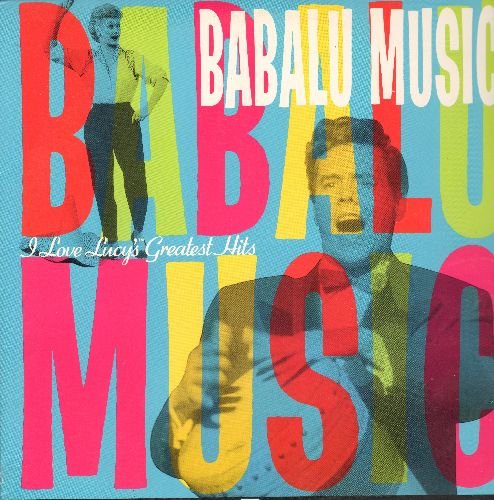 Babalu Music - Babalu Music Laser Disc With Dezi Arnaz and Lucille Ball Music From TV Series - NM9/EX8 - Laser Discs