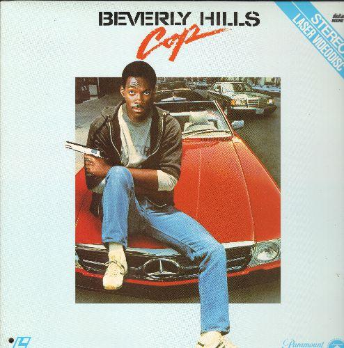 Beverly Hills Cops - Beverly Hills Cop Laser Disc Starring Eddie Murphy - NM9/EX8 - Laser Discs