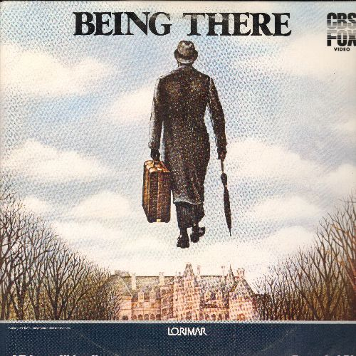 Being There - Being There Double Laser Disc Starring Peter Sellers, Shirley MacLaine and Jack Warden - NM9/EX8 - Laser Discs