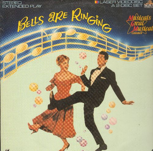 Bells Are Ringing - Bells Are Ringing Double LASERDISC Starring Judy Holliday and Dean Martin - NM9/EX8 - LaserDiscs