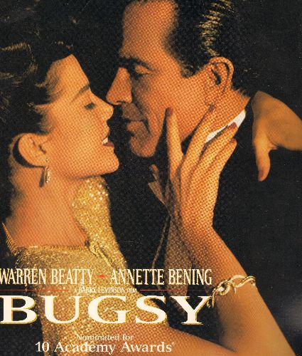 Bugsy - Bugsy Double LASERDISC VERSION Starring Warren Beatty and Annette Bening - NM9/NM9 - LaserDiscs