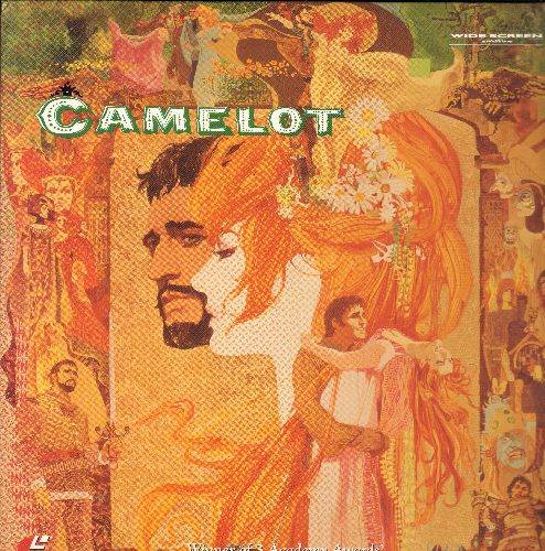 Camelot - Camelot Widescreen LASER DISC VERSION Starring Richard Harris - NM9/EX8 - Laser Discs