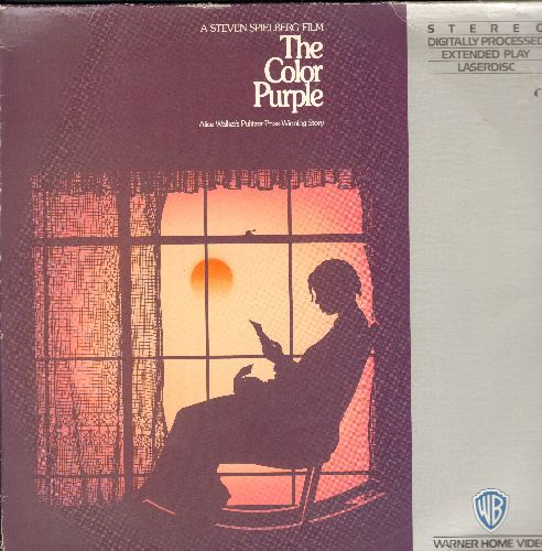 Color Purple - The Color Purple Double Laser Disc Starring Whoopi Goldberg - NM9/EX8 - Laser Discs