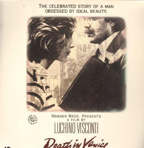 Death In Venice - Death In Venice Widescreen Double LASER DISC VERSION Starring Dirk Boagarde - NM9/EX8 - Laser Discs