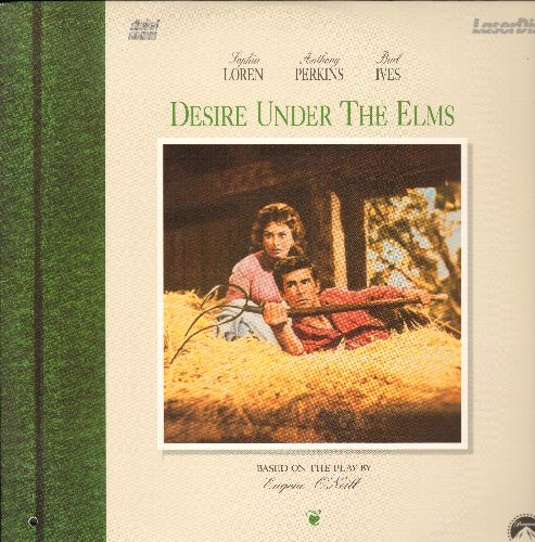 Desire Under The Elms - Deisre Under The Elms Laser Disc Starring Sophia Loren, Anthony Perkins and Burl Ives (bb) - NM9/EX8 - Laser Discs