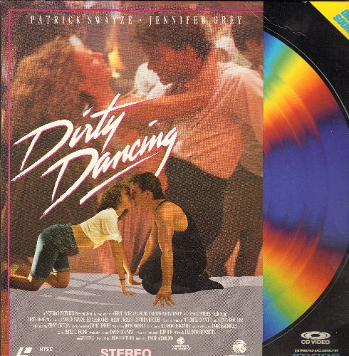 Dirty Dancing - Dirty Dancing LASER DISC VERSION Starring Patrick Swayze And Jennifer Grey - NM9/EX8 - Laser Discs