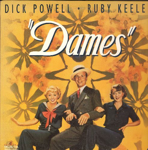 Dames - Dames LASER DISC VERSION Starring Dick Powell and Ruby Keeler - NM9/NM9 - Laser Discs