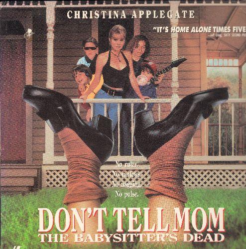 Don't Tell Mom The Baby Sisters Dead - Don't Tell Mom The Babysitter's Dead LASERDISC VERSION Starring Christina Applegate - NM9/VG7 - LaserDiscs