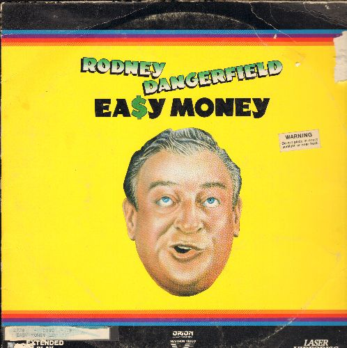 Easy Money - Easy Money LASER DISC VERSION Starring Rodney Dangerfield (cover well worn and torn from sticker, soc back) - EX8/VG6 - Laser Discs