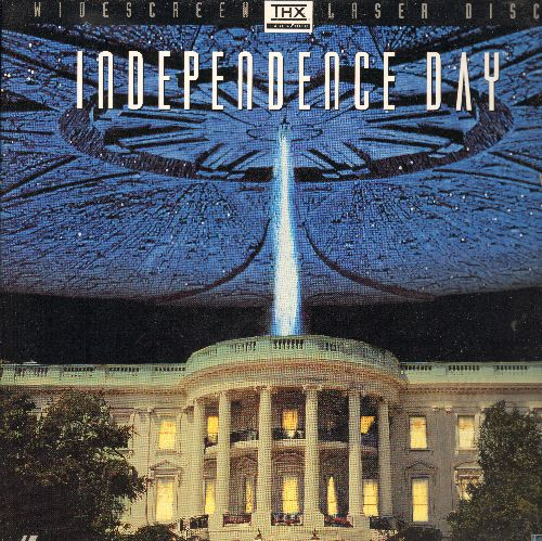 Independence Day - Independence Day Widescreen Double LASER DISC VERSION Starring Will Smith - NM9/NM9 - Laser Discs