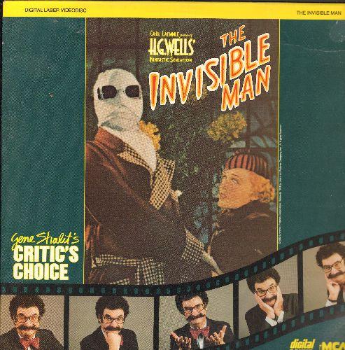 Invisible Man - The Invisable Man LASERDISC VERSION Starring Gloria Stuart and Claude Raines - NM9/EX8 - LaserDiscs