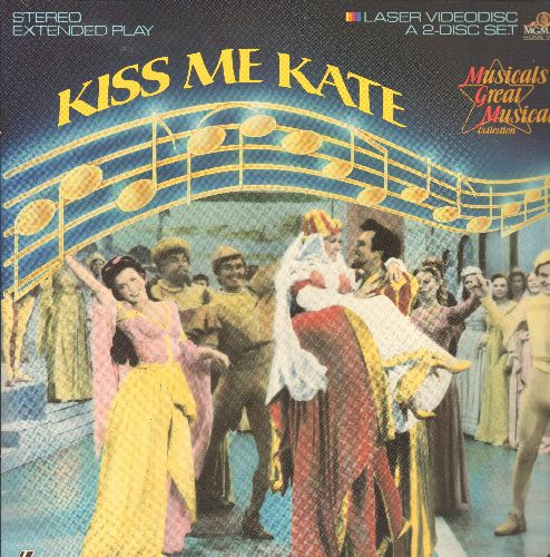 Kiss Me Kate - Kiss Me Kate LASER DISC VERSION Starring Kathryn Grayson and Howard Keel - NM9/NM9 - Laser Discs