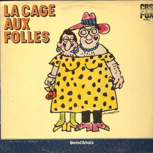 La Cage Aux Folles - La Cage Aux Folles LASERDISC - NM9/VG7 - LaserDiscs