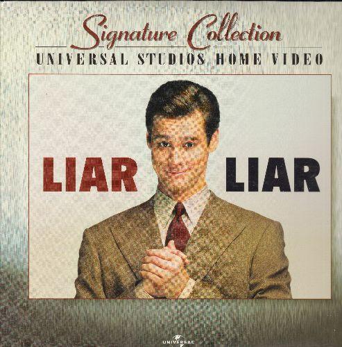 Liar Liar - Liar Liar Double LASER DISC VERSION Starring Jim Carey - NM9/NM9 - Laser Discs