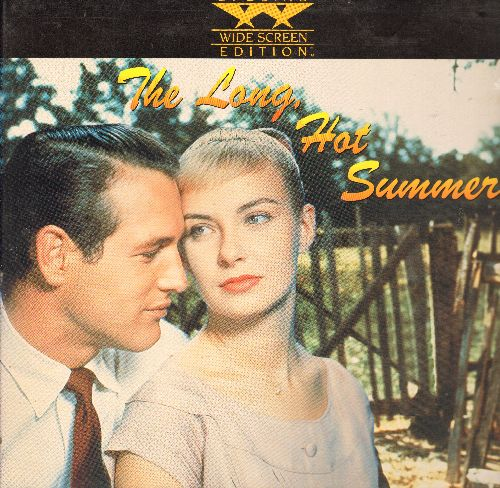 The Long, Hot Summer - The Long, Hot Summer - LASER DISC version of the Paul Newman/Joanne Woodward Classic, Wide Screen Edition in gate-fold cover! - NM9/EX8 - Laser Discs