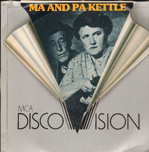 Ma & Pa Kettle - Ma & Pa Kettle Double LASERDISC VERSION Starring Marjorie Main and Percy Kilbride - EX8/EX8 - LaserDiscs