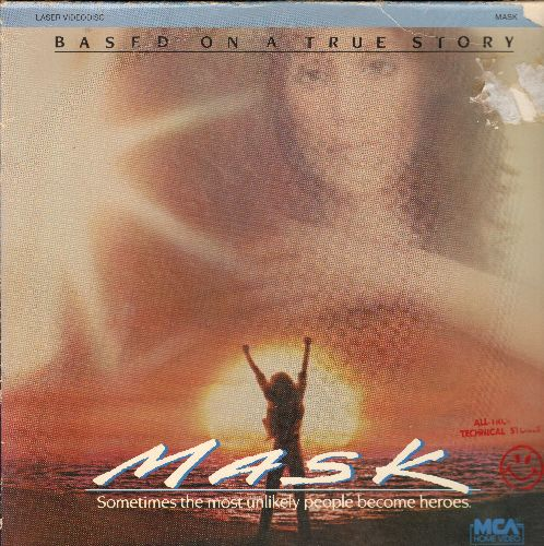 Mask - Mask Double LASER DISC VERSION Starring Cher - NM9/EX8 - Laser Discs