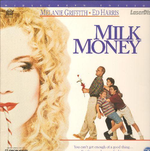 Milk Money - Milk Money LASERDISC VERSION Starring Melanie Griffith and Ed Harris - NM9/EX8 - LaserDiscs