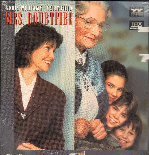 Mrs. Doubtfire - Mrs. Doubtfire Double LASERDISC VERSION (SEALED) Starring Robin Willimas And Sally Field - SEALED/SEALED - LaserDiscs