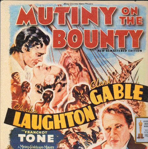 Mutiny On The Bounty - Mutiny On The Bounty Double LASERDISC VERSION Starring Charles Laughton and Clark Gable - NM9/EX8 - LaserDiscs