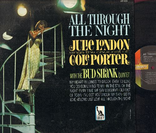 London, Julie - All Through The Night: My Heart Belongs To Daddy, You Do Something To Me, In The Still Of The Night (vinyl MONO LP record) - EX8/EX8 - LP Records