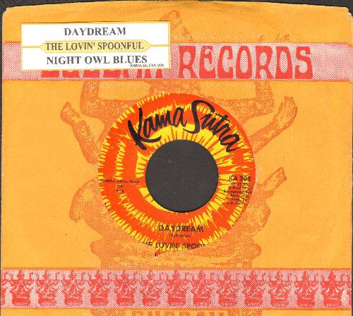 Lovin' Spoonful - Daydream/Night Owl Blues (MINT condition with juke box label and company sleeve) - M10/ - 45 rpm Records