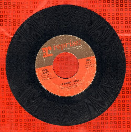 Lopez, Trini - La Bamba (Parts 1 + 2) - EX8/ - 45 rpm Records