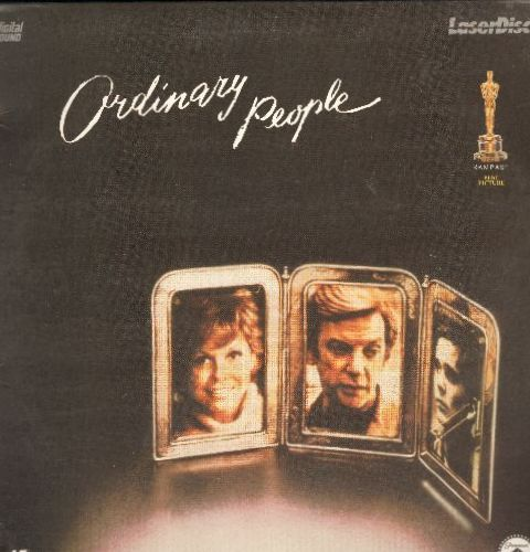 Ordinary People - Ordinary People Double Laser Disc Starring Mary Tyler Moore, Donald Sutherland and Timothy Hutton - NM9/EX8 - Laser Discs