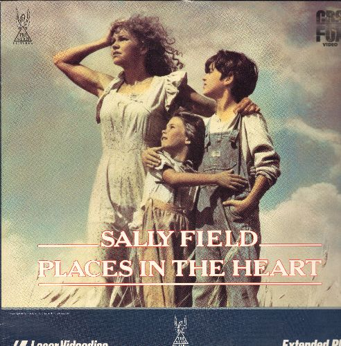 Places In The Heart - Places In The Heart Laser Disc Starring Sally Field - NM9/NM9 - Laser Discs