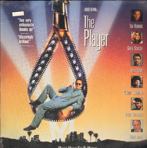The Player - The Player - Robert Altman's Cult Classic Thriller starring Tim Robbins (This is a set of 2 LASERDISCS, NOT ANY OTHER KIND OF MEDIA!) - SEALED/SEALED - LaserDiscs