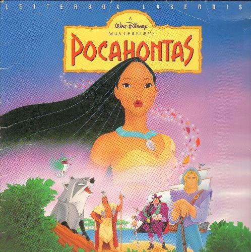 Disney - Disney's Pocahontas Letter Box LASERDISC VERSION - NM9/EX8 - LaserDiscs