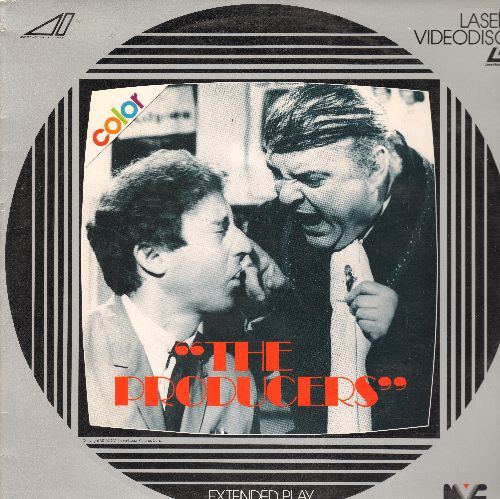 Producers - The Producers LASER DISC VERSION Starring Gene Wilder and Zero Mostel (bb) - NM9/NM9 - Laser Discs